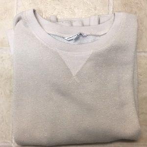 American Eagle shimmer sweatshirt